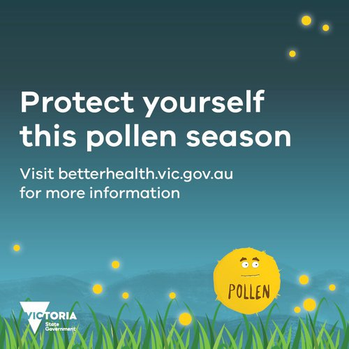Protect yourself this pollen season and be COVID aware.